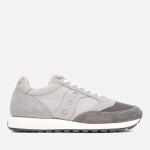 Saucony Men's Jazz Original Trainers - Grey/Light Grey