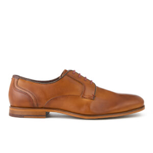 Ted Baker Men's Iront Leather Derby Shoes - Tan