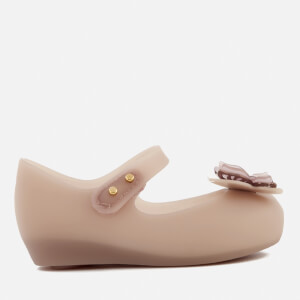 Mini Melissa Toddlers' Ultragirl Butterfly Ballet Flats - Blush Matte