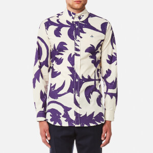 Vivienne Westwood MAN Men's Ballet Russe Krall Shirt - Purple Leaves