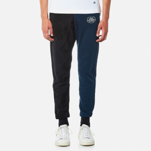 Vivienne Westwood MAN Men's Skinny Sweatpants - Petrol Blue/Black Mix