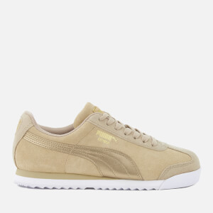 Puma Women's Roma Basic Metallic Safari Trainers - Safari/Safari