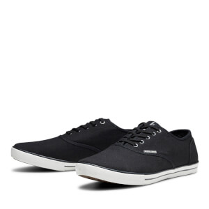 Chaussures Tennis en Toile Homme Scorpion Jack & Jones - Gris Anthracite: Image 2
