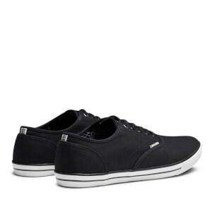 Chaussures Tennis en Toile Homme Scorpion Jack & Jones - Gris Anthracite: Image 5