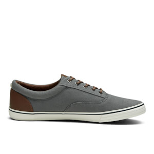 Jack & Jones Men's Vision Mix Canvas Pumps - Castlerock