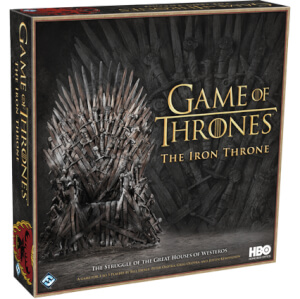 HBO Games of Thrones - The Iron Throne Board Game