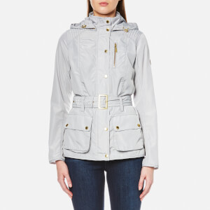 Barbour International Women's Suliven Casual Jacket - Ice White