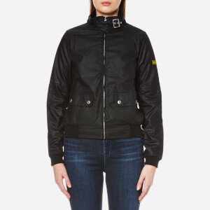 Barbour International Women's Tain Wax Jacket - Black