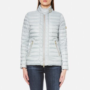 Barbour International Women's International Firth Quilt Jacket - Ice White