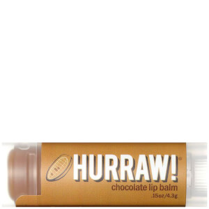 Bálsamo labial de chocolate de Hurraw!