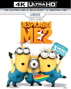 Gru 2, mi villano favorito (incluye copia UV) - 4K Ultra HD