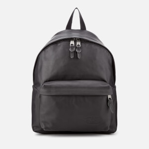 Eastpak Men's Authentic Leather Padded Pak'r Backpack - Black Ink Leather