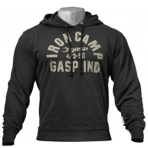 GASP Throwback hoodie - Wash black