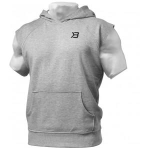 Better Bodies Hudson short sleeve sweater - Greymelange