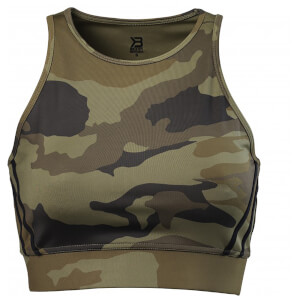 Better Bodies Cherry Hill Short Top - Dark green camo