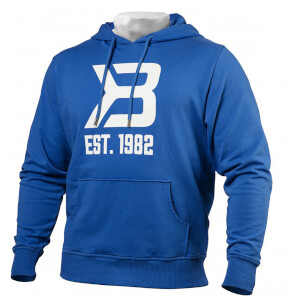 Better Bodies Gym hoodie - Bright Blue