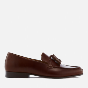 Hudson London Men's Bernini Leather Tassel Loafers - Tan