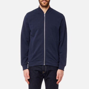 Barbour International Men's Sani Zip Through Jacket - Navy