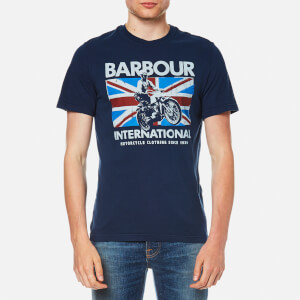 Barbour International Men's Jump Jack T-Shirt - Insignia Blue
