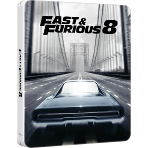 Fast & Furious 8: 4K Ultra HD - Zavvi Exclusive Limited Edition Steelbook (Includes 2D Version & Digital Download)