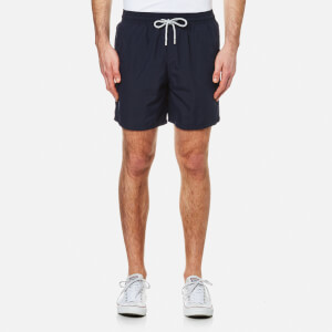 Vilebrequin Men's Moorea Plain Swim Shorts - Navy