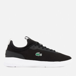 Lacoste Men's LT Spirit 2.0 317 1 Runner Trainers - Black/White