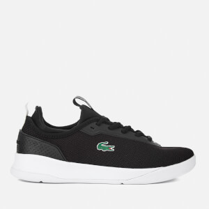 Lacoste Women's LT Spirit 2.0 317 1 Runner Trainers - Black/White