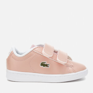 Lacoste Toddlers' Carnaby Evo 317 6 Trainers - Light Pink