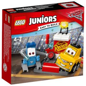 LEGO Juniors: Cars 3: L'arrêt au stand de Guido et Luigi (10732)
