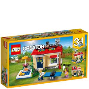 LEGO Creator: Modulaire vakantie aan het zwembad (31067)