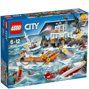 LEGO City: Coast Guard Coast Guard Head Quarters (60167)