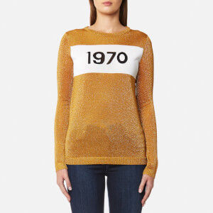 Bella Freud Women's Sparkle 1970 Jumper - Gold