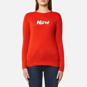 Bella Freud Women's Now Jumper - Red