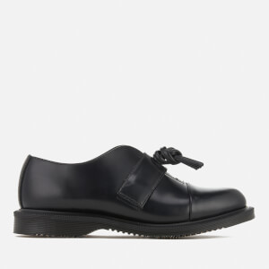 Dr. Martens Women's Kensington Eliza Leather Knotted Top Flats - Black