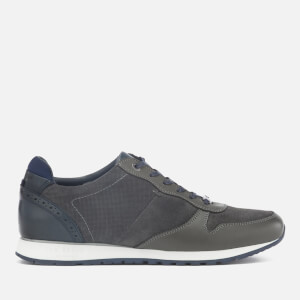 Ted Baker Men's Shindl Suede Runner Trainers - Grey