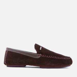 Ted Baker Men's Moriss 2 Suede Moccasin Slippers - Brown