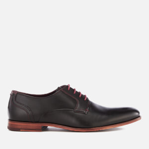 Ted Baker Men's Iront Leather Derby Shoes - Black