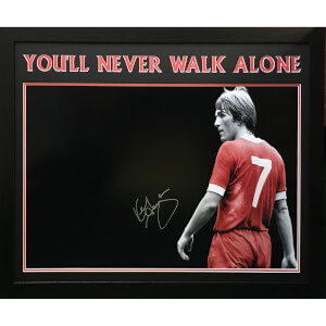 Kenny Dalglish Signed and Framed 23 x 30 Photograph
