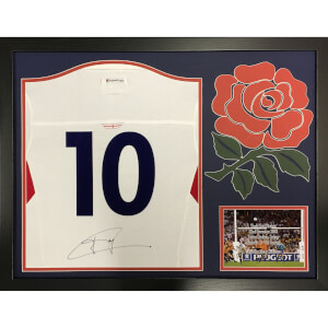 Johnie Wilkinson Signed and Framed England Rugby shirt