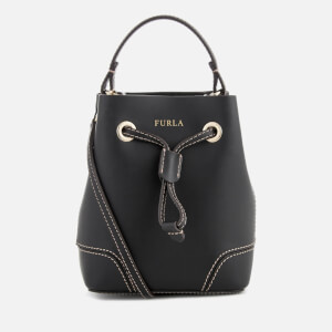 Furla Women's Stacy Mini Drawstring Bag - Black
