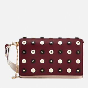 Diane von Furstenberg Women's Soiree Cross Body Bag - Red Wine/Petal