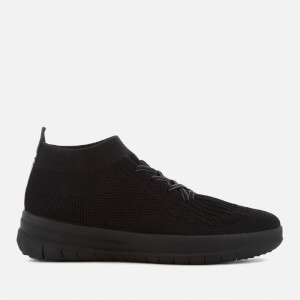 FitFlop Women's Uberknit Hi-Top Trainers - All Black
