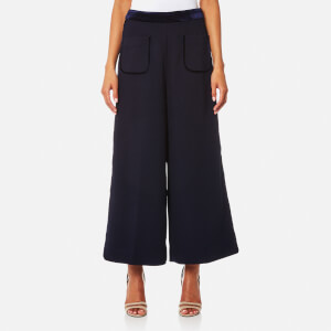 Three Floor Women's Look Sharp Culottes - Navy