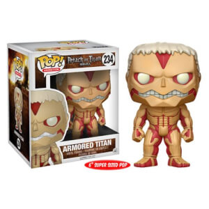 Attack on Titan Armored Titan 15 cm Pop! Vinyl Figur