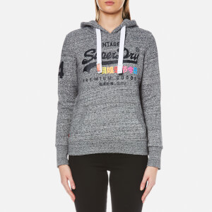 Superdry Women's Premium Goods Hooded Jumper - Flint Grey Grit