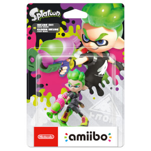 Inkling Boy (Lime Green) amiibo (Splatoon Collection)