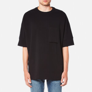 Helmut Lang Men's Micro Loop Terry T-Shirt - Black