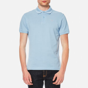 Barbour Men's Sport Polo Shirt - Sky