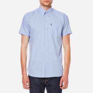 Barbour Men's Casey Short Sleeve Shirt - Blue