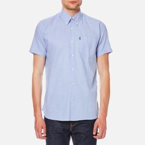 Barbour Men's Casey Short Sleeve Shirt - Blue